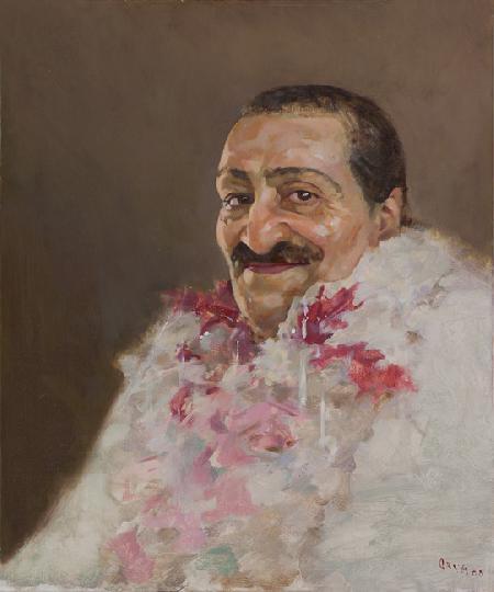 Meher Baba at Andra Pradesh, 1954