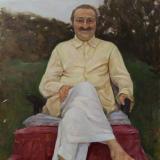 Meher Baba at Guruprassad Poona, September 1957