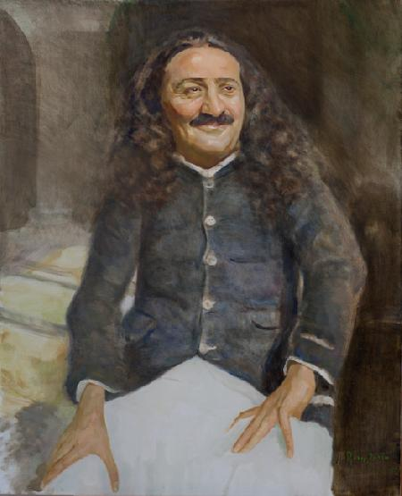 Meher Baba at Jabalpur, January 1939