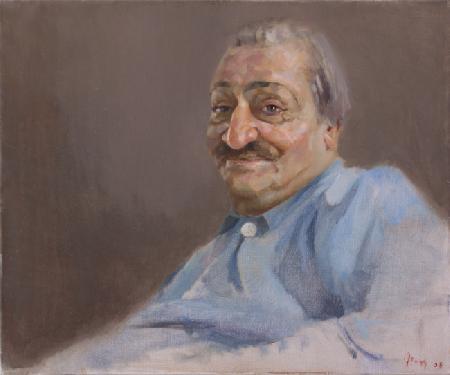 Meher Baba at Meherazad, October 13, 1968