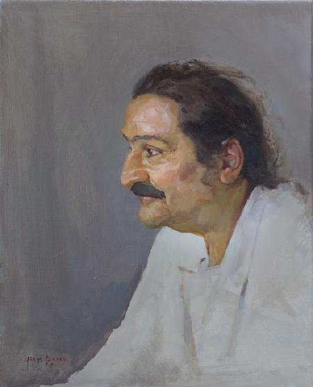 Meher Baba in Seclusion Meherabad Hill, 1947