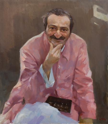 Meher Baba in Meherabad, 1954