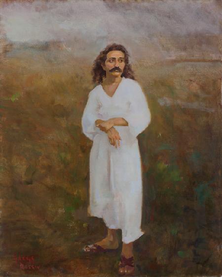 Meher Baba on Meherabad Hill 1927-1928