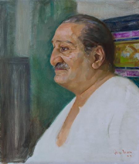 Meher Baba Profile at Guruprassad, 1960