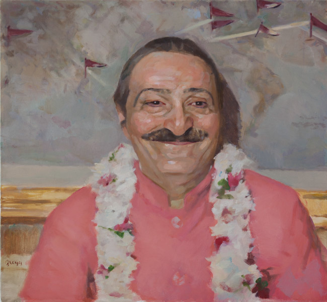 Meher Baba at Hotel Delmonico, 1956
