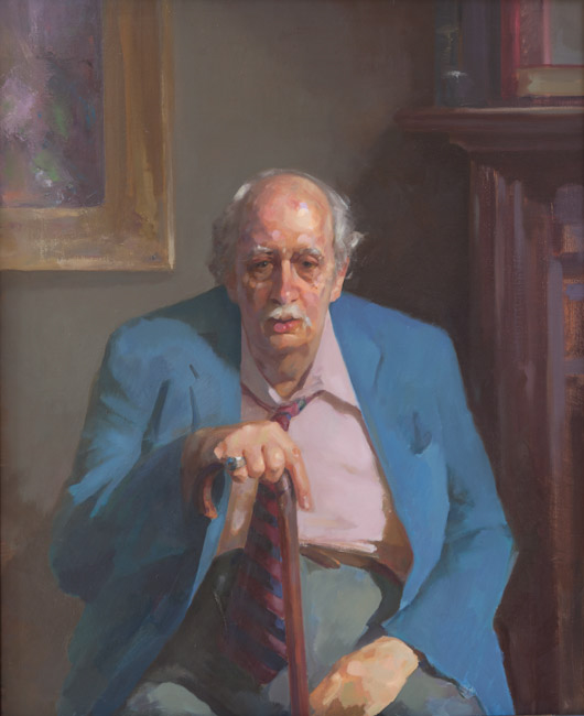 Portrait of Elmer Kline